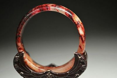 Excellent Chinese natural Old jade beautiful bracelet bangle  a2
