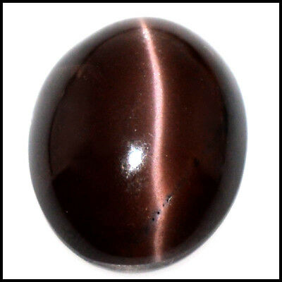 32.85Cts NATURAL SCAPOLITE CAT'S EYE SHARP LINE OVAL CABOCHON GEMSTONE 109-42