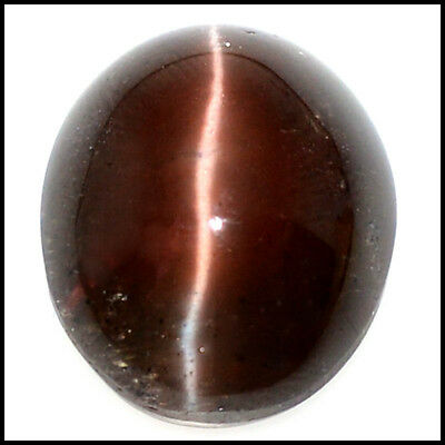 31.22Cts NATURAL SCAPOLITE CAT'S EYE AMAZING! OVAL CABOCHON GEMSTONE 109-40