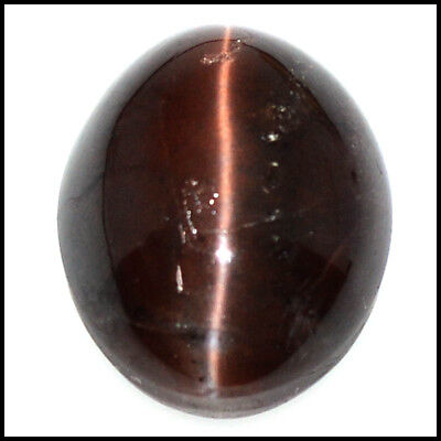 36.41Cts NATURAL SCAPOLITE CAT'S EYE FINE OVAL CABOCHON GEMSTONES 109-20