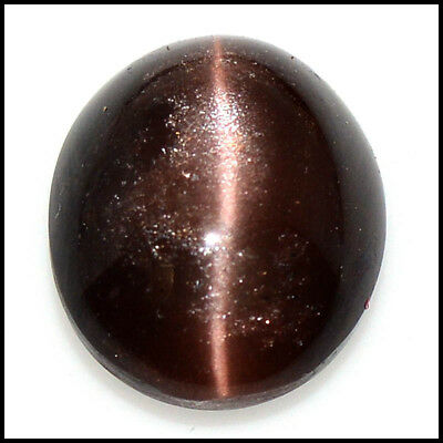 33.91Cts NATURAL BRILLIANT! SCAPOLITE CAT'S EYE OVAL CABOCHON GEMSTONE 109-34