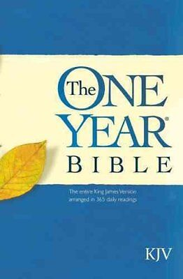 One Year Bible-KJV by Publishers House Tyndale 9780842325769 (Paperback, 1987)