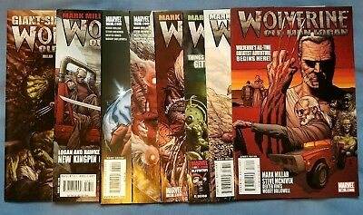 Wolverine Old Man Logan  66-72 + Giant Size : 8 Issues