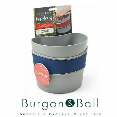 Burgon & Ball Small Gardening Hip Trug in Navy