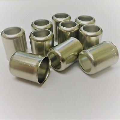 3/8 Fuel Pipe Ferrules Stainless Steel Motorcycle TRIUMPH NORTON BSA AJS