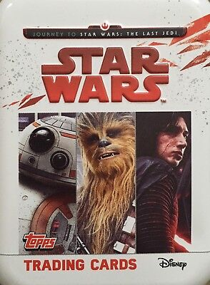 Topps Star Wars Journey To The Last Jedi Cards - Limited Edition Cards