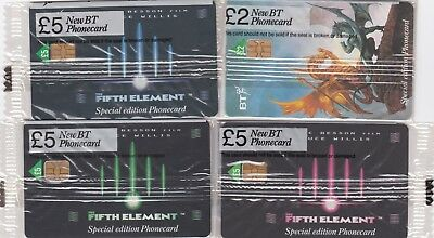 BT Phonecard, 4 x mint BT Chip phonecards, mint sealed