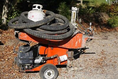 Hmi  Hm-1 Mudpump  Mud Pump Grout Propane Fueled Engine