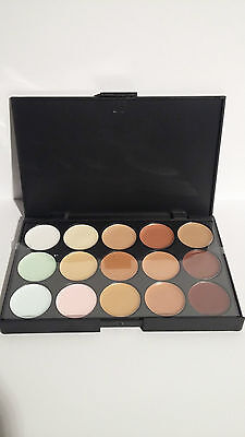 Palette Maquillage Contouring Correcteur 15 Couleurs Leticia Well