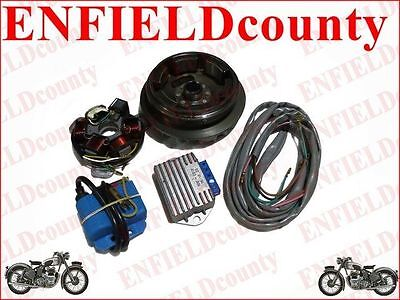 Lambretta 12 V Electronic Ignition Kit For Li 1/2/3 Large Cone Type Scoots @cad