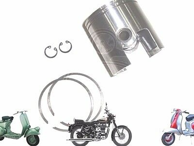 LAMBRETTA GP LI SX TV 200CC PISTON KIT 66.60 mm WITH 2 X 1.5 RINGS @AEs