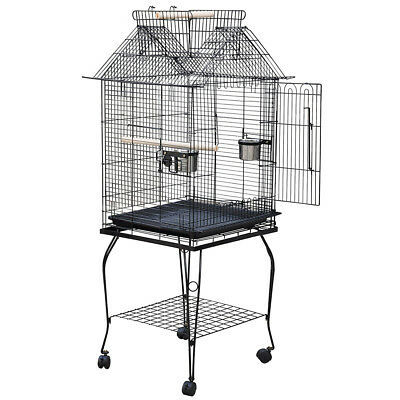 FP Large-scale Gold wire Parrort Large Bird Cage
