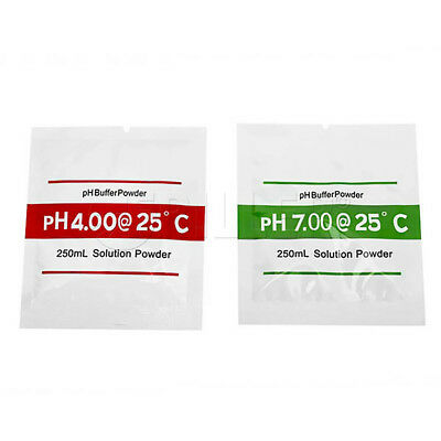 pH Meter Calibration Sachet Buffer Powder 250mL Solution Twin Pack pH4.01 pH6.86