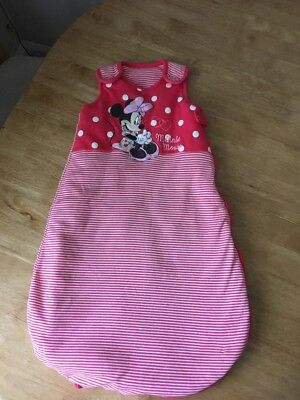Baby Girl 0-6 Months Minnie Mouse Sleep Bag
