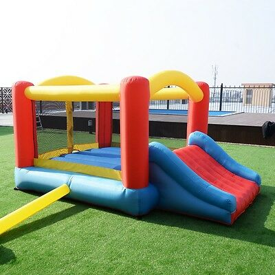 Inflatable Bounce House Moonwalk Castle Jumper Without Blower