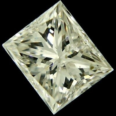 natural princess cut diamond H I1 0.49ct genuine loose diamonds