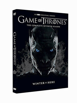 NewGame of Thrones: Complete Sevnth Season 7 (DVD, 2017, 4 Disc Box Set) Sealed