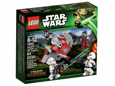 LEGO® Star Wars  75001 - Republic Troopers™ v.Sith™ Troopers  NEU & OVP