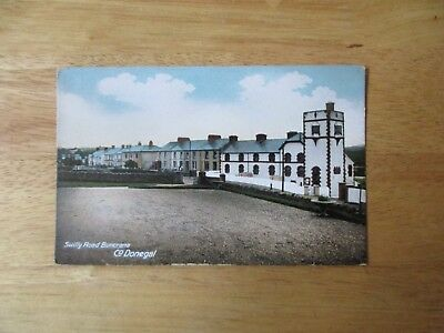 vintage postcard * Swilly Road, Buncrana, Co. Donegal * unposted early 1900s