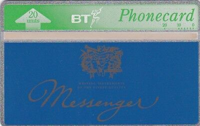 BT Phonecard, BTA084 20u Messenger Pens, mint