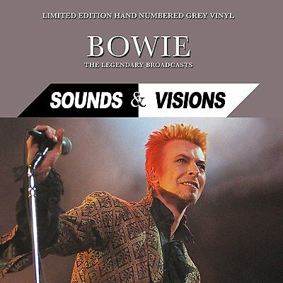 David Bowie - Sounds & Visions: Limited Edition Hand Numbered Grey Vinyl