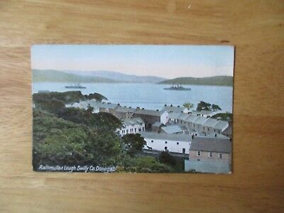 vintage postcard * Loch Swilly, Rathmullan, Co. Donegal * unposted early 1900s