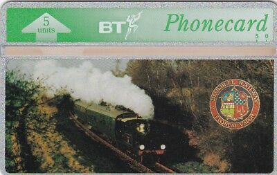 BT Phonecard, BTG071 5u Bluebell Railway, mint