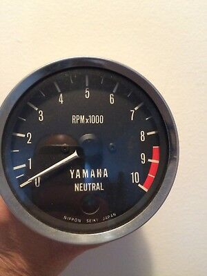 1973 RD 250  RD 350 Tachometer Like New. Nos Removed From A Show Room Demo