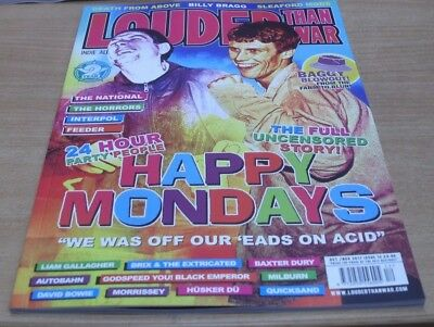 Louder than War magazine #12 Oct/Nov 2017 Happy Mondays full uncensored story