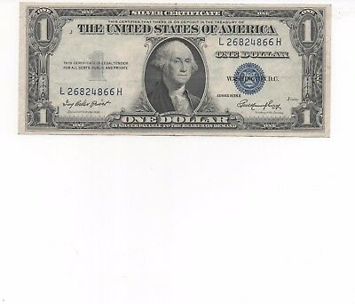 1935 One $1 Dollar Silver Certificate Notes G-VG US Currency old currency