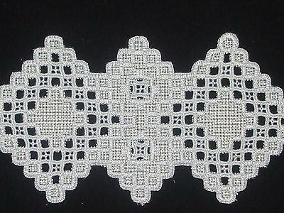 Beautiful HAND EMBROIDERED HARDANGER
