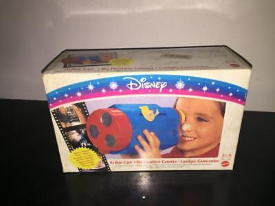 Mattel Disney ACTION CAM Realistic Play Video Camera with Park Video MIB Vintage