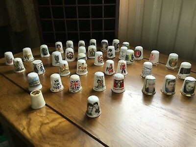 Thimbles Collection Display
