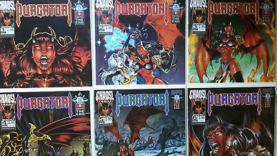 Purgatori * # 1 - 6 * Monthly 1998 / 99 * Chaos Comics USA