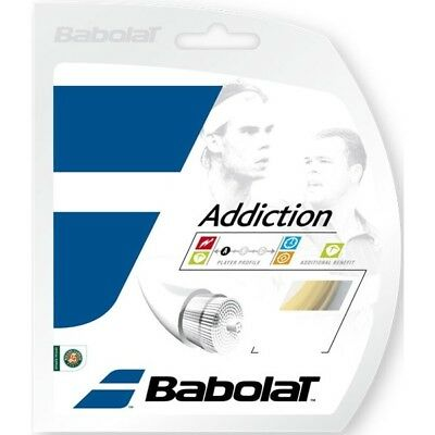 Lot 6 Cordages tennis BABOLAT ADDICTION A -30%