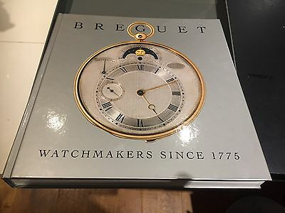 Breguet - watchmakers since 1775 hardback coffee table book.