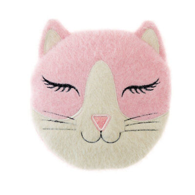 NEW Aroma Home Pink Cat Sleepy Head Lavender Scented Microwavable Cushion