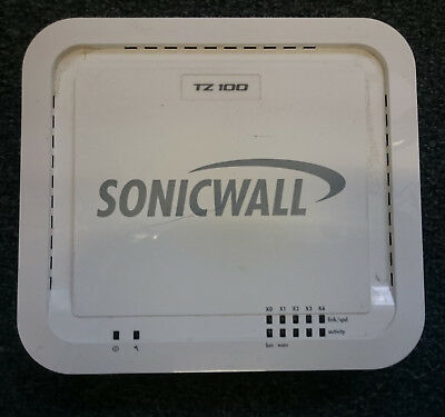Sonicwall TZ 100 Security Appliance Firewall