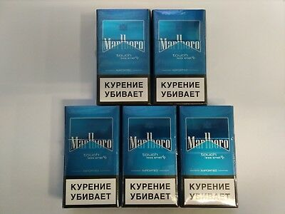 "5 X Marlboro TOUCH ""COLLECTIBLE"" Germany"