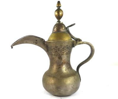 VINTAGE or ANTIQUE MIDDLE EASTERN ARABIAN OTTOMAN DALLAH COFFEE POT g