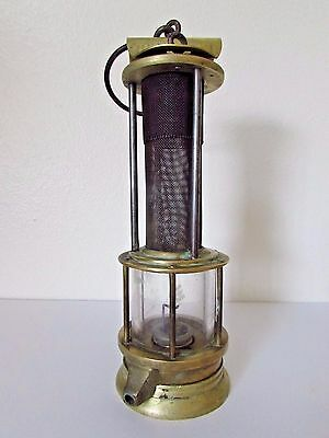 Antique HUGHES BROS Coal Miners Safety Lamp SCRANTON, PA.