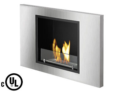 Lima UL/CUL - Ignis Recessed Ventless Bio Ethanol Fireplace - Eco Friendly