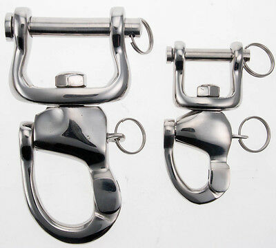 Abbey England Stainless Steel Quick Release Shackle