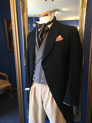 Handsome Men's Period Morning Tailcoat, Beautifully Made, Top Item!!!
