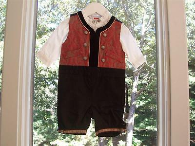 Little Baby Bunad 1-2 Month  EU 56 NORWEGIAN BUNAD FOR BABY! FROM NORWAY