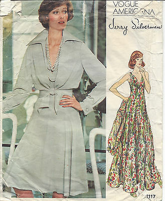 1970S VINTAGE VOGUE Sewing Pattern B34 LOUNGEWEAR DRESS (1043) BY ...