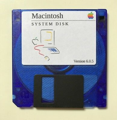 System 6 Boot Disk for Macintosh SE, Classic, Portable MULTILINGUAL