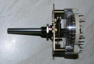 3 POLE, 3 POS  GOLD  Contacts Swiss Made  ELMA  SWITCH, AUDIO