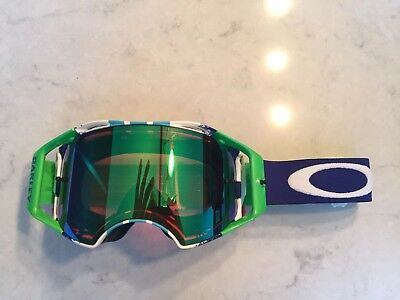 Oakley Airbrake Mx goggle With Prism Lens