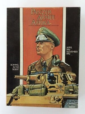 Avalon Hill Panzer Armee Afrika Rommel in the Desert All Playing Pieces Included